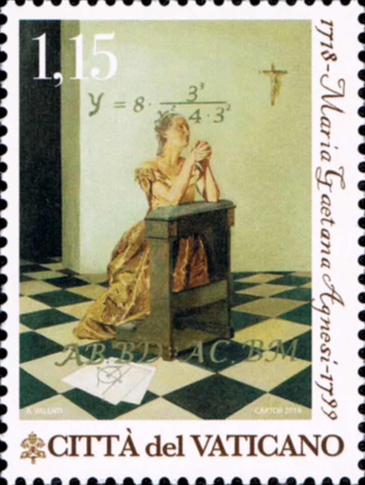 Images of Mathematicians on Postage Stamps