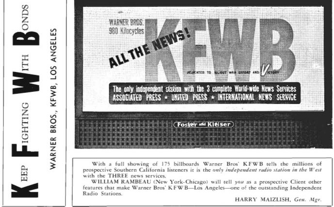 Celebrating KFWB's 90th Anniversary - Lost Radio History