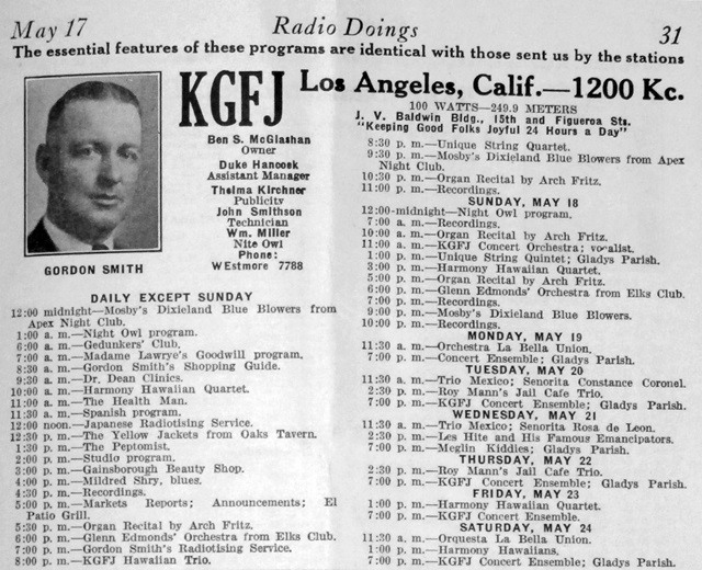 KGFJ - Los Angeles, The Original 24-Hour Radio Station